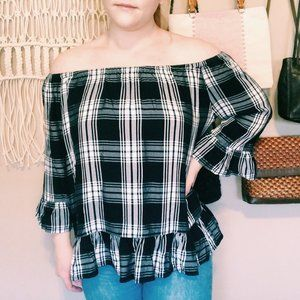 beachlunchlounge Tops - BeachLunchLounge Collection Off-The-Shoulder Top